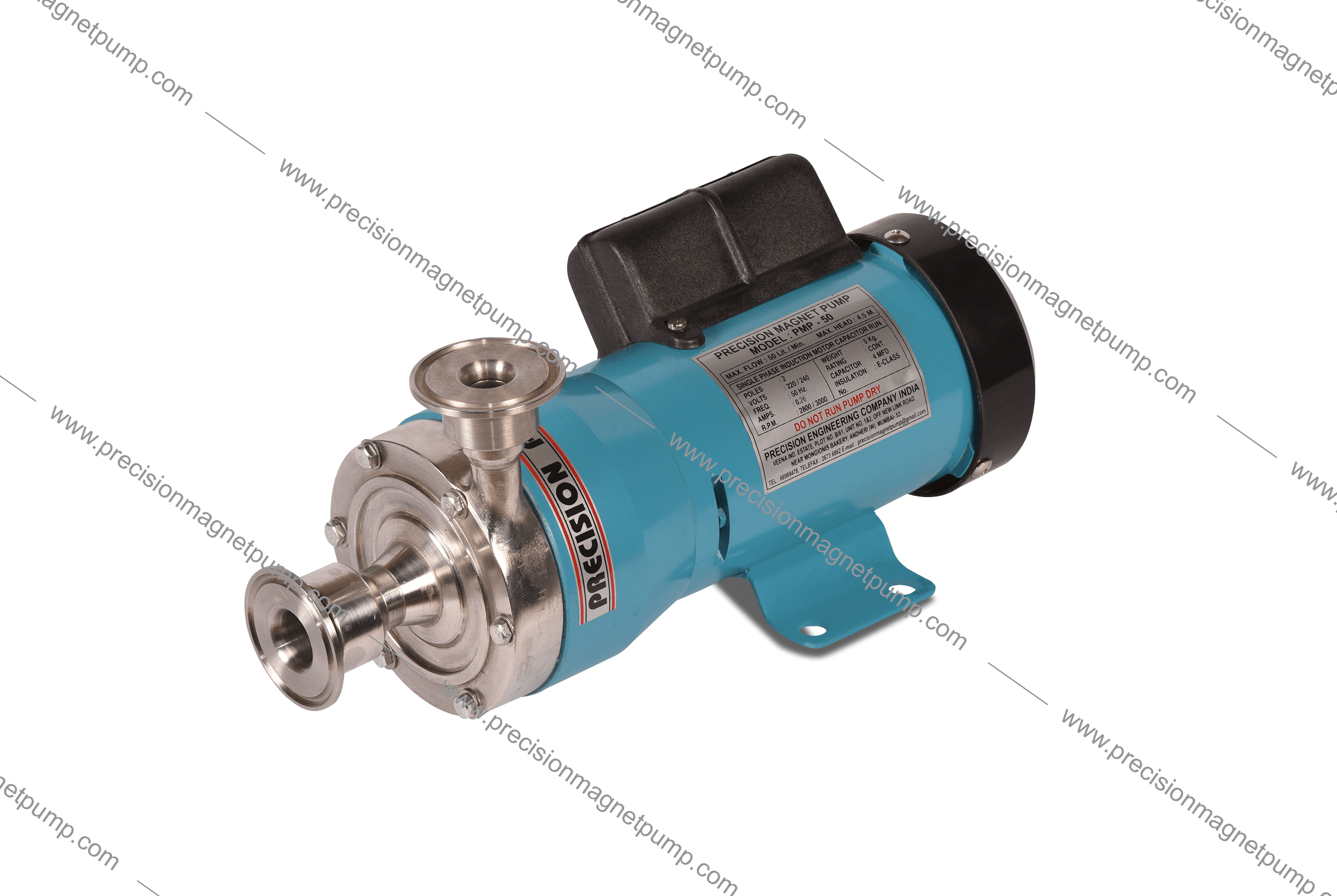 Magnetic Sealless Pump-PMP-50-SS31